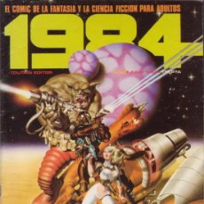 Cómics: COMIC 1984 Nº 54. CON NEGRETE, AURALEON, RICHARD CORBEN, JUAN GIMENEZ, ETC. EDITORIAL TOUTAIN. . Lote 142982976