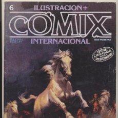 Cómics: ILUSTRACIÓN + COMIX INTERNACIONAL Nº 6.. Lote 20712147