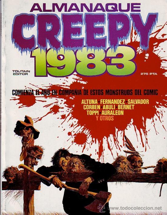 CREEPY - ALMANAQUE 1983 (Tebeos y Comics - Toutain - Creepy)