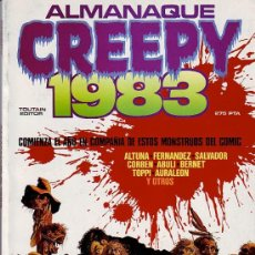 Cómics: CREEPY - ALMANAQUE 1983. Lote 23891401