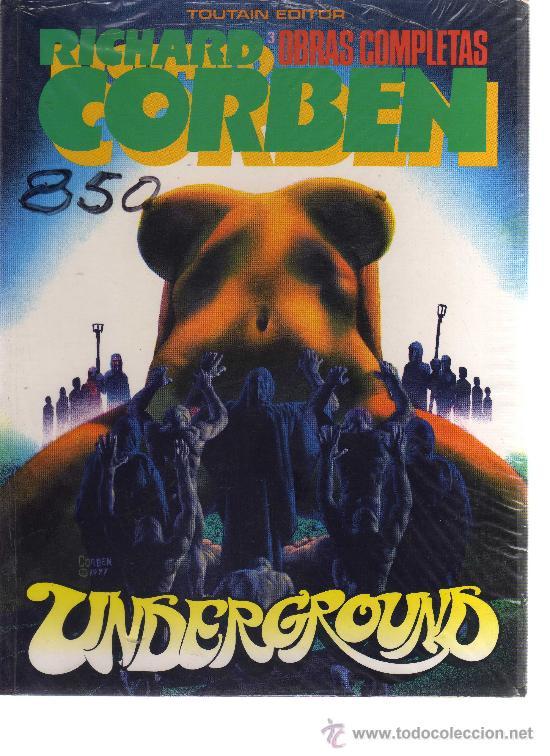 OBRAS COMPLETAS RICHARD CORBEN Nº3 - UNDERGROUND - CJ18 (Tebeos y Comics - Toutain - Obras Completas)