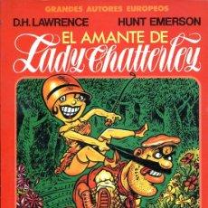 Cómics: EL AMANTE DE LADY CHATTERLEY - D. H. LAWRENCE / HUNT EMERSON - TOUTAIN - 1987. Lote 22617980