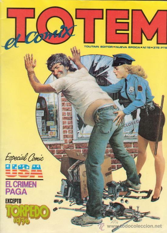 TOTEM EL COMIX. Nº 19. ESPECIAL COMIC USA. TOUTAIN EDITOR. (Tebeos y Comics - Toutain - Otros)