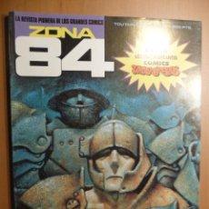 Cómics: ZONA 84. Nº 89 (DE LOS ÚLTIMOS) TOUTAIN. MUY BIEN. Lote 98516478