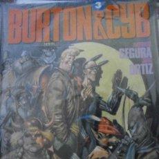 Cómics: BURTON & CYB Nº 3. ANTONIO SEGURA JOSE ORTIZ. TOUTAIN EDITOR.. Lote 24310204