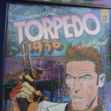 Cómics: TORPEDO 1936. Nº 3. JORDI BERNET SANCHEZ ABULI. COMICS TOUTAIN EDITOR.. Lote 24401155