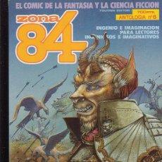 Cómics: ZONA 84 - TOMO RECOPILATORIO CON 3 NÚMEROS ( 17, 18, 19 ). Lote 23128095