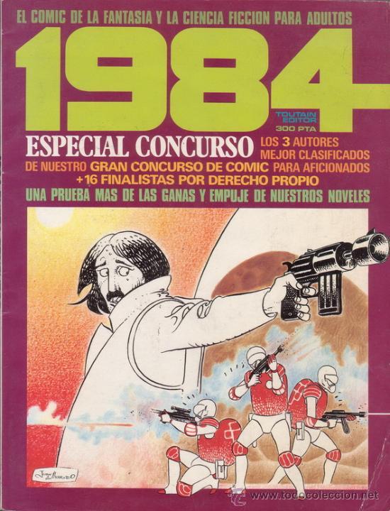 REVISTA 1984. ESPECIAL CONCURSO. EDITORIAL TOUTAIN. (Tebeos y Comics - Toutain - 1984)