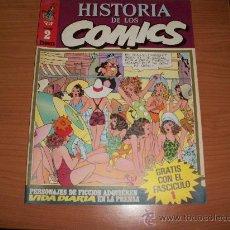 Cómics: HISTORIA DE LOS COMICS Nº 2 TOUTAIN 1982 . Lote 24645621