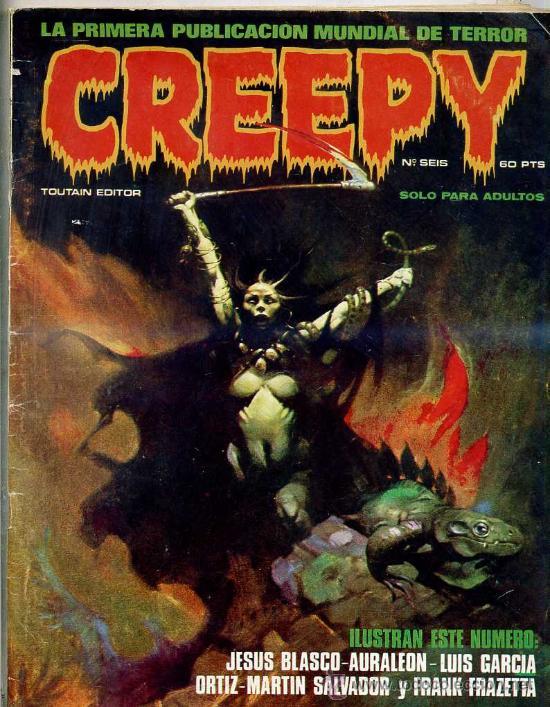 CREEPY Nº 6 (Tebeos y Comics - Toutain - Creepy)