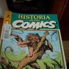 Cómics: 'HISTORIA DE LOS COMICS', Nº 4. EDITORIAL TOUTAIN. 1982. TARZÁN EN PORTADA.. Lote 26822148