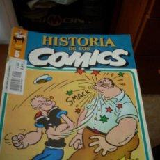 Cómics: 'HISTORIA DE LOS COMICS', Nº 5. EDITORIAL TOUTAIN. 1982. POPEYE EN PORTADA.. Lote 26822507