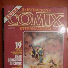 Cómics: ILUSTRACIÓN + COMIX INTERNACIONAL. EXTRA. Lote 26829758