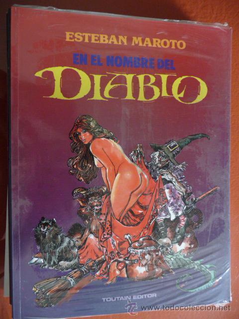 ESTEBAN MAROTO. EN EL NOMBRE DEL DIABLO (Tebeos y Comics - Toutain - Álbumes)