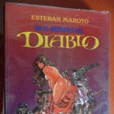 Fumetti: ESTEBAN MAROTO. EN EL NOMBRE DEL DIABLO. Lote 26850953