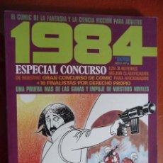 Cómics: 1984. ESPECIAL CONCURSO. Nº 2. Lote 26851076