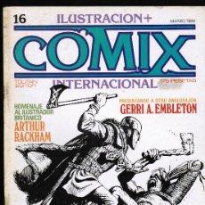 Cómics: COMIX INTERNACIONAL Nº 16 - TOUTAIN. Lote 113038383
