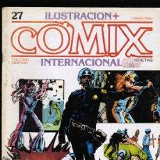 Cómics: COMIX INTERNACIONAL Nº 27 - TOUTAIN. Lote 26908329