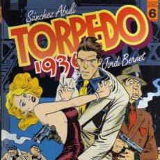Cómics: TORPEDO 1936 - JORDI BERNET - Nº 6 - TOUTAIN EDITOR . Lote 26920046