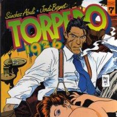 Cómics: TORPEDO 1936 - JORDI BERNET - Nº 7 - TOUTAIN EDITOR . Lote 26920075
