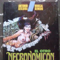 Cómics: EL OTRO NECRONOMICON ALBUM TAPA RUSTICA TOUTAIN EDITOR. Lote 26943955
