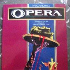Cómics: OPERA OBRA COMPLETA TOMO TAPA RUSTICA TOUTAIN EDITOR. Lote 57438695