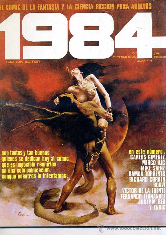 1984 Nº 19 (Tebeos y Comics - Toutain - 1984)