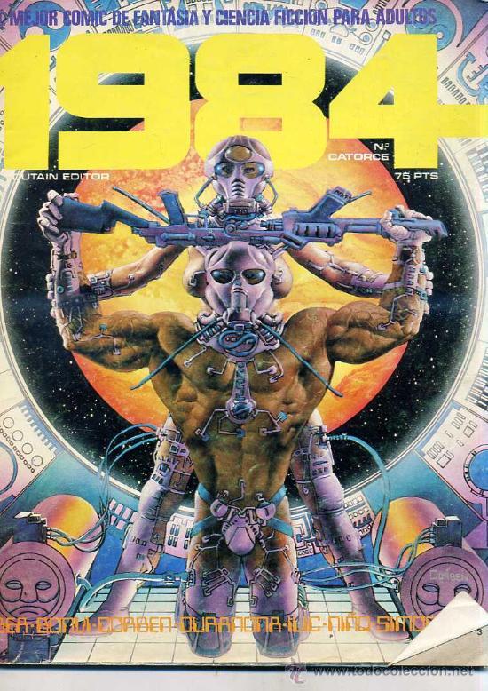 1984 Nº 14 (Tebeos y Comics - Toutain - 1984)
