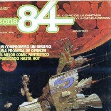 Cómics: ZONA 84 Nº 1. Lote 26974888