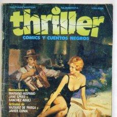 Cómics: THRILLER Nº 4. Lote 26975238