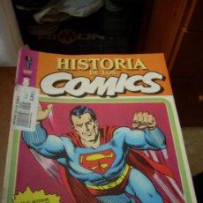 Cómics: 'HISTORIA DE LOS COMICS', Nº 8. EDITORIAL TOUTAIN. 1982. SUPERMAN EN PORTADA.. Lote 27057037