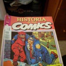 Cómics: 'HISTORIA DE LOS COMICS', Nº 9. EDITORIAL TOUTAIN. 1982. SPIRIT EN PORTADA.. Lote 27057113