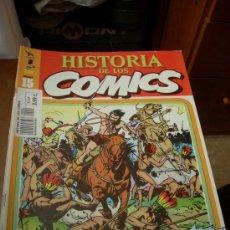 Cómics: 'HISTORIA DE LOS COMICS', Nº 15. EDITORIAL TOUTAIN. 1982. HERNÁN EL CORSARIO EN PORTADA.. Lote 27067933