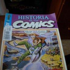 Cómics: 'HISTORIA DE LOS COMICS', Nº 21. EDITORIAL TOUTAIN. 1982. DAN DARE EN PORTADA.. Lote 27159131