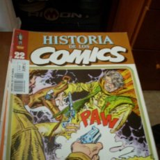 Cómics: 'HISTORIA DE LOS COMICS', Nº 22. EDITORIAL TOUTAIN. 1982. BLUEBERRY EN PORTADA.. Lote 27159153