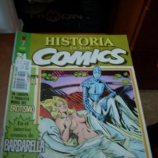 Cómics: 'HISTORIA DE LOS COMICS', Nº 24. EDITORIAL TOUTAIN. 1982. BARBARELLA EN PORTADA.. Lote 27159219