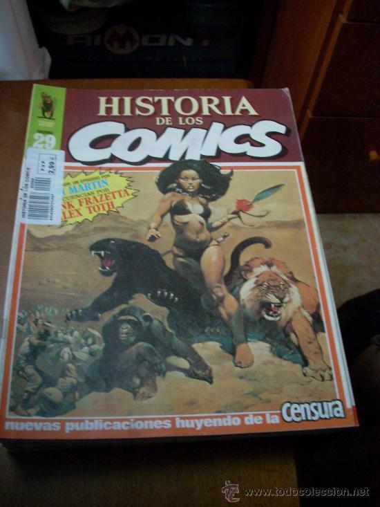 'HISTORIA DE LOS COMICS', Nº 29. EDITORIAL TOUTAIN. 1983. WEREWOLF EN PORTADA. (Tebeos y Comics - Toutain - Otros)