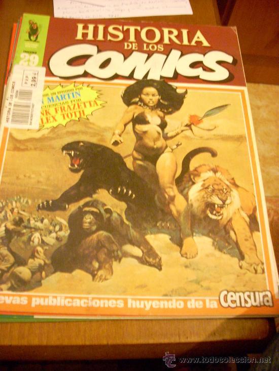 Cómics: Historia de los comics, nº 29. Editorial Toutain. 1983. Werewolf en portada. - Foto 2 - 27174054