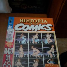 Cómics: 'HISTORIA DE LOS COMICS', Nº 37. EDITORIAL TOUTAIN. 1983. PAULETTE EN PORTADA.. Lote 27343671