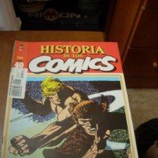 Cómics: 'HISTORIA DE LOS COMICS', Nº 40. EDITORIAL TOUTAIN. 1983. GARTH EN PORTADA.. Lote 27343778