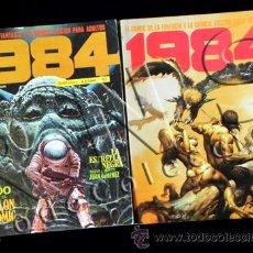 Cómics: LOTE COMICS 1984 RETAPADOS 26 27 28 52 53 54 TOUTAIN REVISTA CÓMIC PARA ADULTOS CIENCIA FICCIÓN. Lote 27845681
