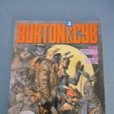 Cómics: BURTON & CYB. Nº 3.. Lote 27999338