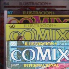 Cómics: COMIX INTERNACIONAL - LOTE DE 61 EJEMPLARES - EDITA : TOUTAIN AÑOS 80. Lote 25360108