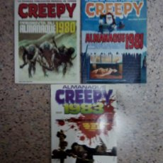 Cómics: CREEPY - ALMANAQUE LOTE DE 3 .. Lote 28161528
