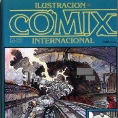 Cómics: ILUSTRACIÓN+COMIX --4,5,7---14,15,16---21,22,23---27,28,29-RETAPADOS DE 3NºS-BIBLIOTECA-CAJA13. Lote 28213693