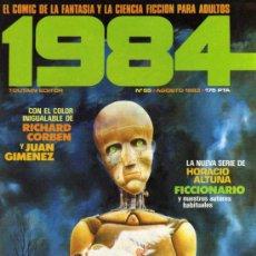 Cómics: 1984 - Nº 55 - TOUTAIN. Lote 28228691