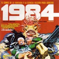 Cómics: 1984 - Nº 52 - TOUTAIN. Lote 28228700