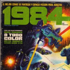 Cómics: 1984 Nº 1 TOUTAIN EDITOR 2ª ED. Lote 28437929