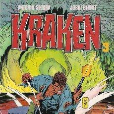 Cómics: KRAKEN Nº3 (ANTONIO SEGURA Y JORDI BERNET).AÑO 1989 . Lote 28769684