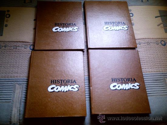HISTORIA DE LOS COMICS TOMOS 1 A 4 (COMPLETA) DE JAVIER COMA Y OTROS (TOUTAIN EDITOR) (Tebeos y Comics - Toutain - Obras Completas)
